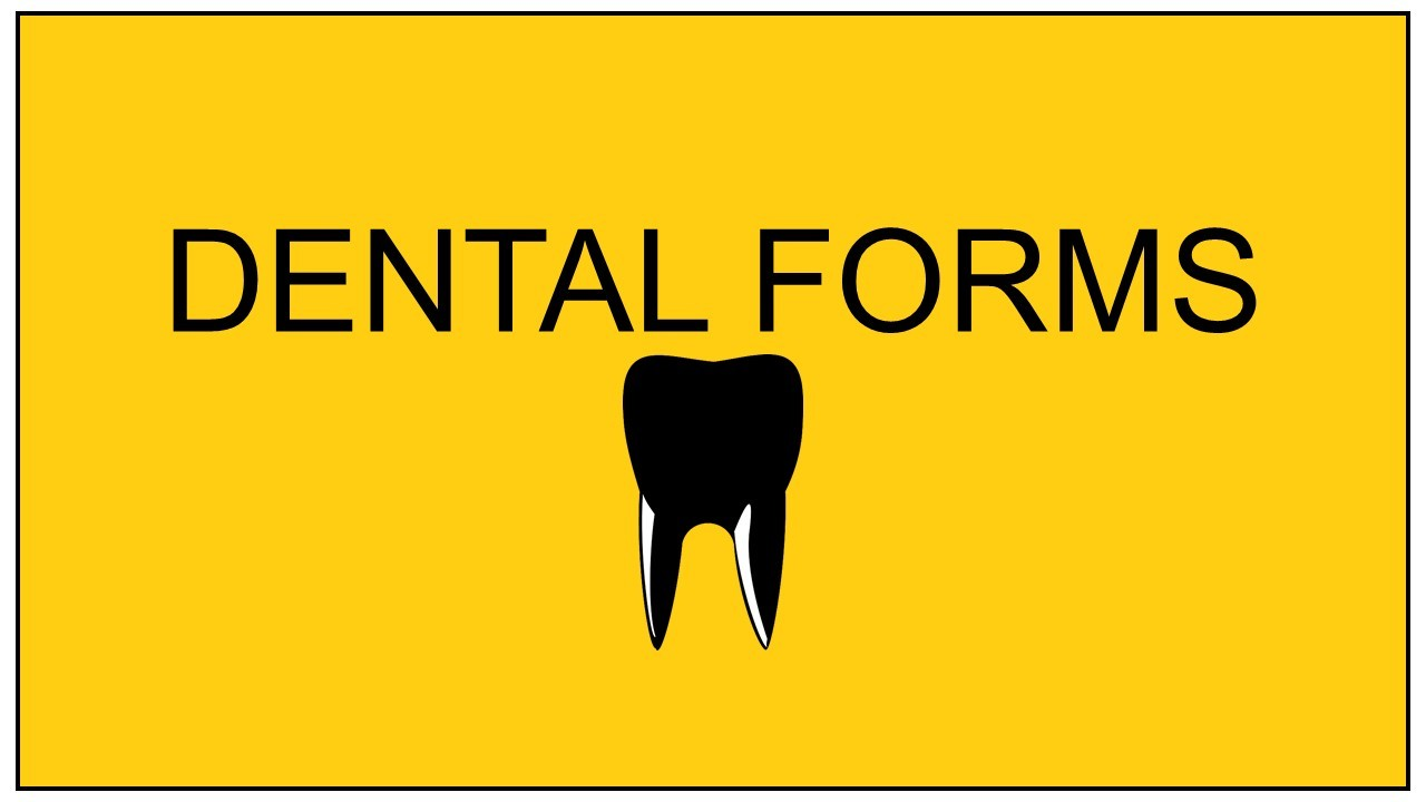 dental-forms-yellow
