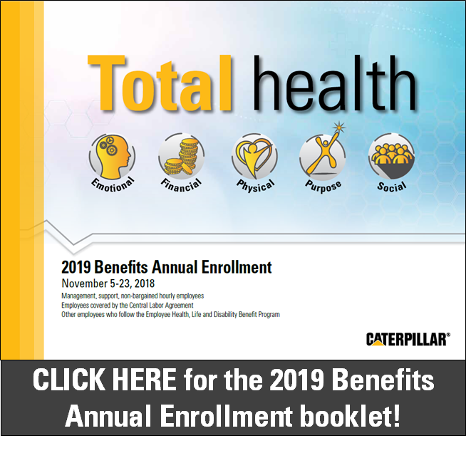 Benefits|Caterpillar